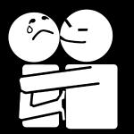 Par exemple : la personne m'embrasse et je ne suis pas d'accord