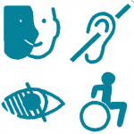 À noter que notre activité s'étend à tous les types de handicap : Handicap psychique ou cognitif,handicap sensoriel, handicap moteur