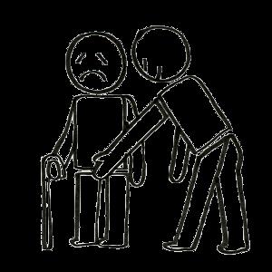 Par exemple, la personne handicapée subit des attouchements non consentis.