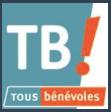 """Ouvrir dans un nouvel onglet nos offres de bénévolat sur le site """"Tous Bénévoles"""""""