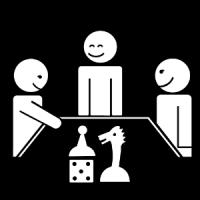 Je joue à des jeux de société.
