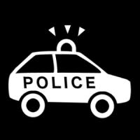 La police.