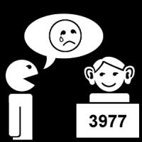 Une personne est là poiur m'écouter au 3977.