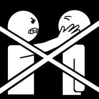 La violence est interdite.